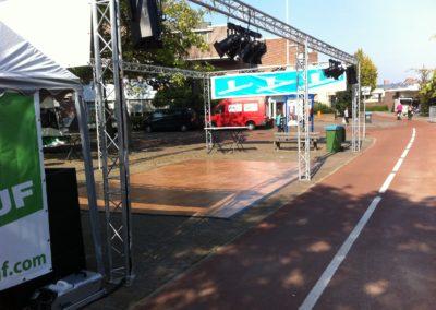Zomerbraderie Salsa demo te Veldhoven1